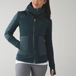 Lululemon Fleecy Keen Jacket Dark Fuel